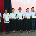 Tổng kết và trao giải học sinh giỏi lớp 9 cấp thị xã năm học 2018-2019